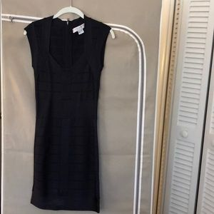 Navy French connection classic dress